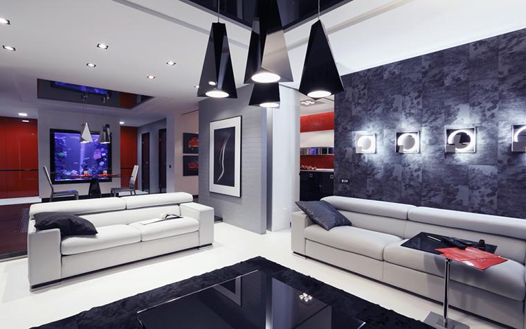 Фото № 17609 гостиная  Квартира