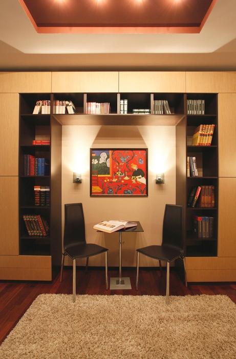 Фото № 17635 кабинет библиотека  Квартира