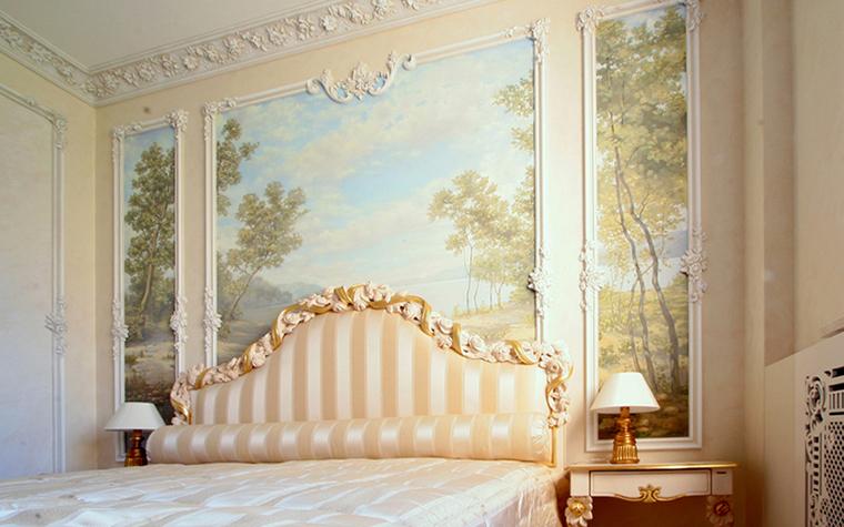 Квартира. спальня из проекта , фото №17658