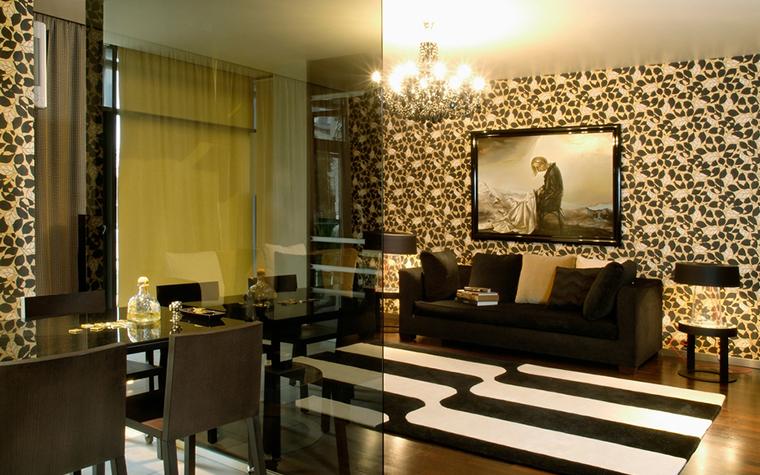 Квартира. гостиная из проекта , фото №17811