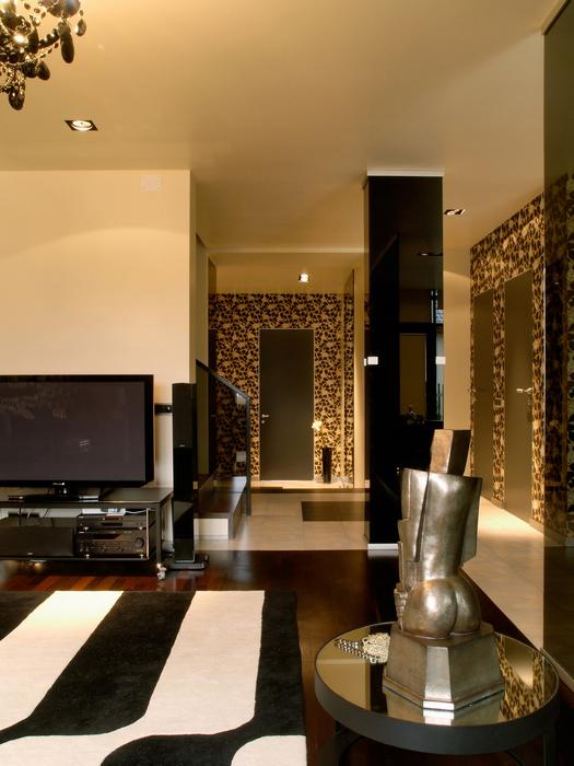 Квартира. гостиная из проекта , фото №17810