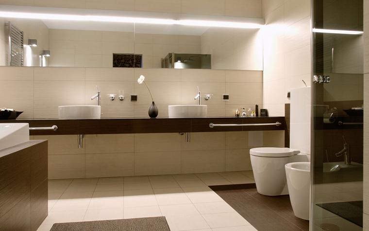 Квартира. ванная из проекта , фото №17814
