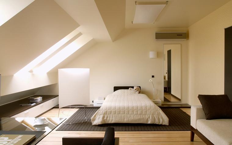 Квартира. спальня из проекта , фото №17822