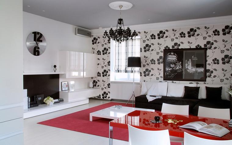 Квартира. гостиная из проекта , фото №17824
