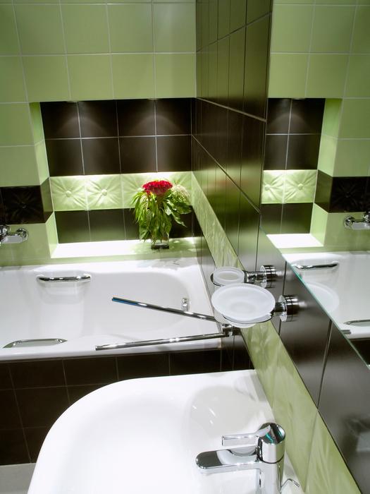 Квартира. ванная из проекта , фото №17835
