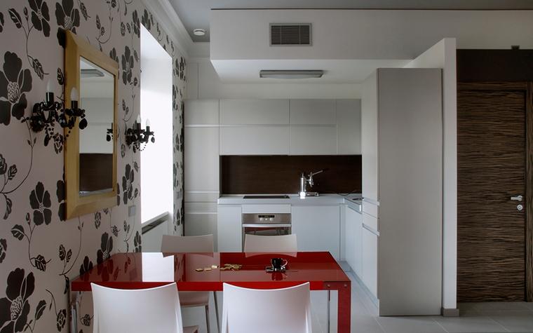 Квартира. кухня из проекта , фото №17830