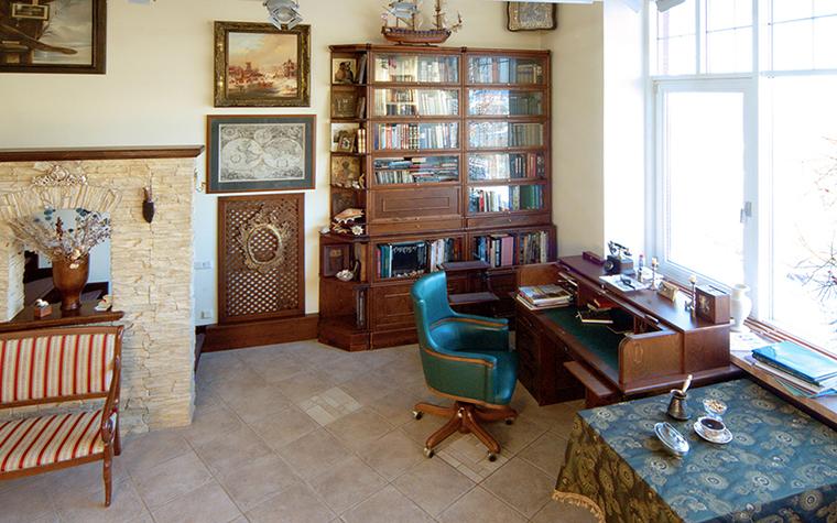 интерьер кабинета - фото № 17855