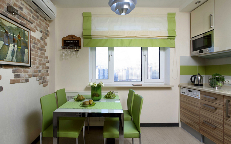 Квартира. кухня из проекта , фото №17887