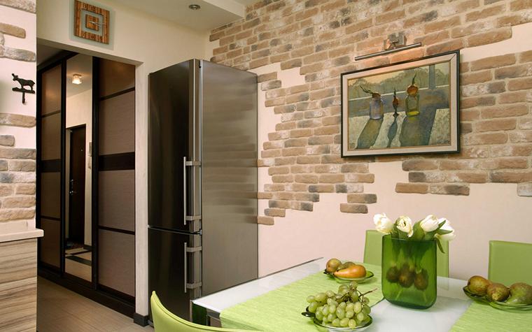 Квартира. кухня из проекта , фото №17888