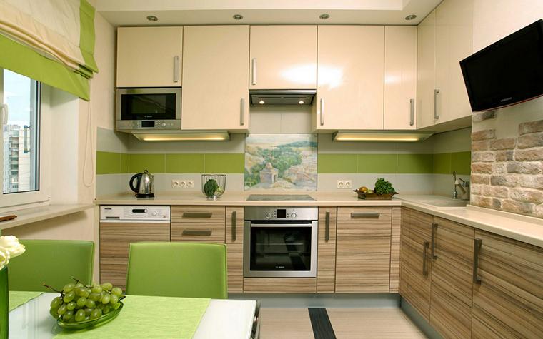 Квартира. кухня из проекта , фото №17889