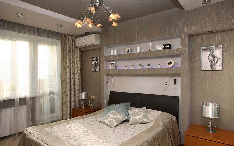 Квартира. спальня из проекта , фото №17876