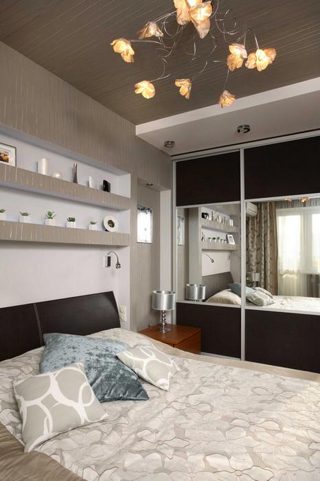 Квартира. спальня из проекта , фото №17877