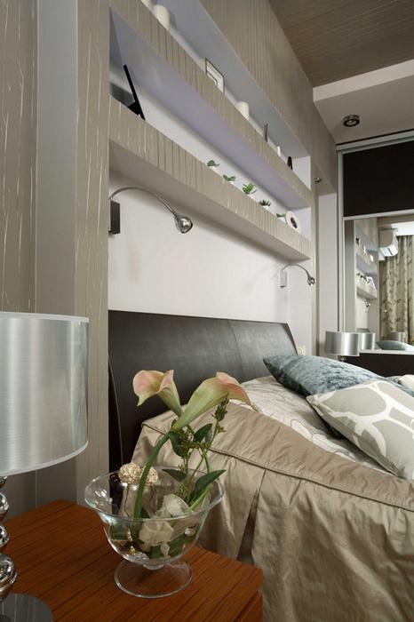 Квартира. спальня из проекта , фото №17878
