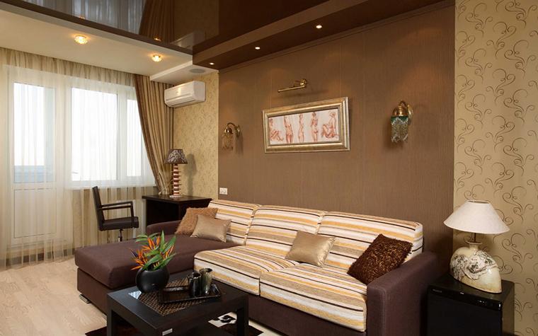 Квартира. гостиная из проекта , фото №17880
