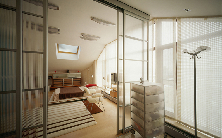 Квартира. спальня из проекта , фото №20393