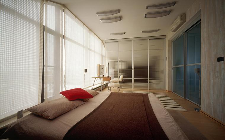 Квартира. спальня из проекта , фото №20394