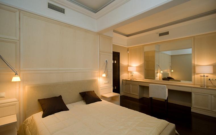 Квартира. спальня из проекта , фото №18245