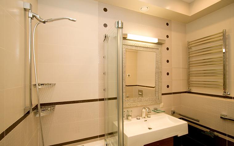 Квартира. ванная из проекта , фото №18249