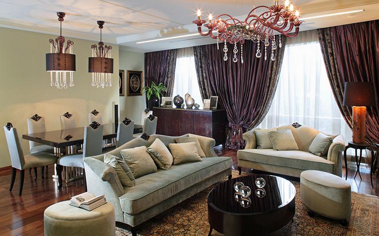 интерьер гостиной - фото № 18341