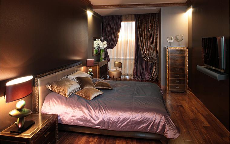 Квартира. спальня из проекта , фото №18352