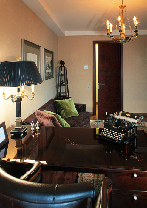 Квартира. кабинет из проекта , фото №18346