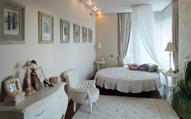 интерьер спальни - фото № 18348