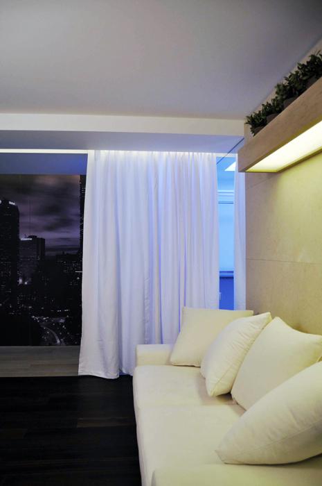 Квартира. гостиная из проекта , фото №18398