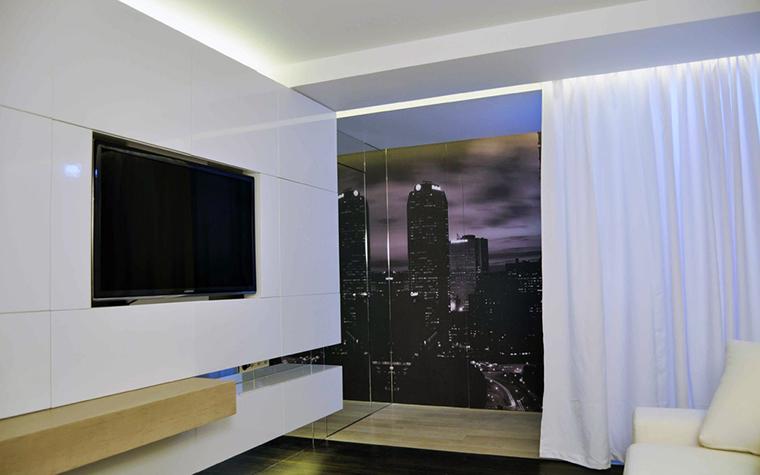Квартира. гостиная из проекта , фото №18399