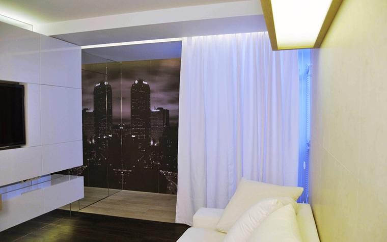 Квартира. гостиная из проекта , фото №18401