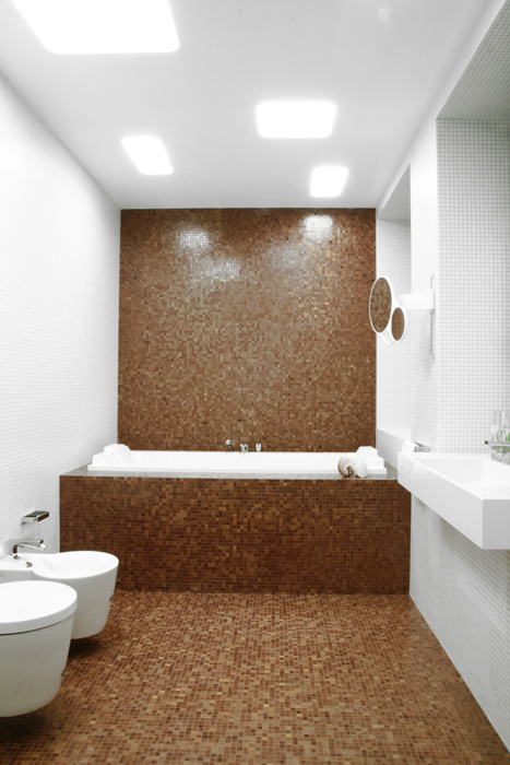 Квартира. ванная из проекта , фото №18416