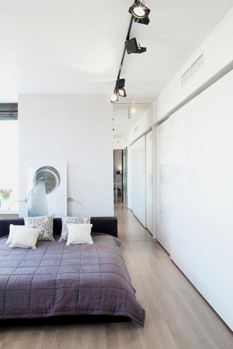 Квартира. спальня из проекта , фото №18424