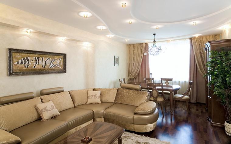 Фото № 18520 гостиная  Квартира