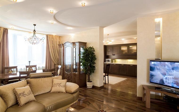 Фото № 18521 гостиная  Квартира