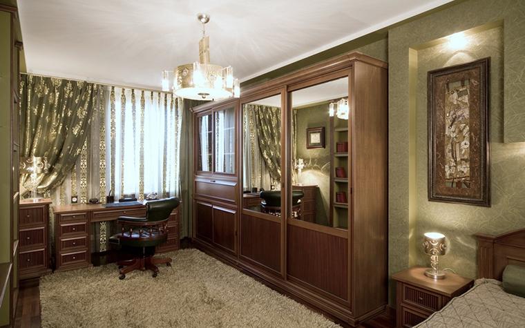 Квартира. кабинет из проекта , фото №18523