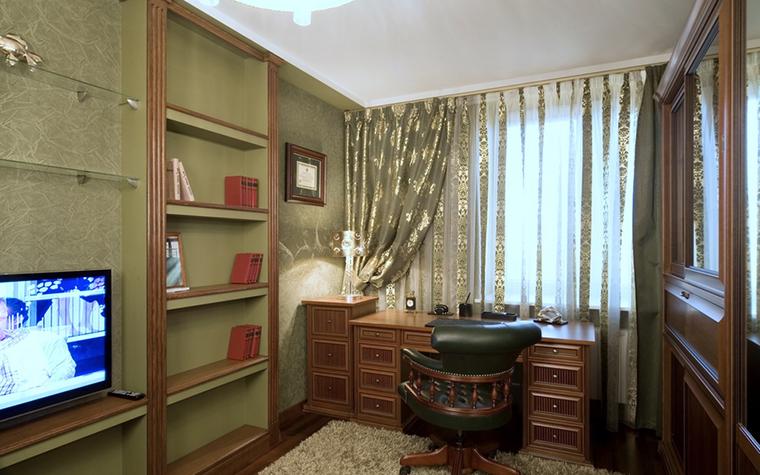 Квартира. кабинет из проекта , фото №18524