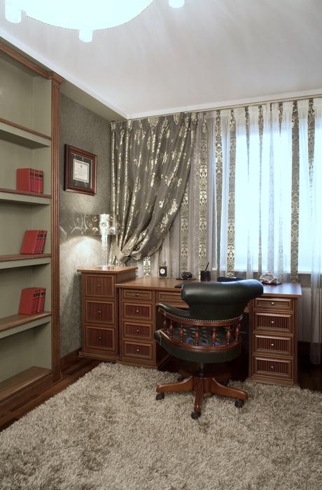 Квартира. кабинет из проекта , фото №18525
