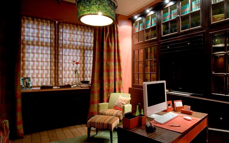 интерьер кабинета - фото № 18705