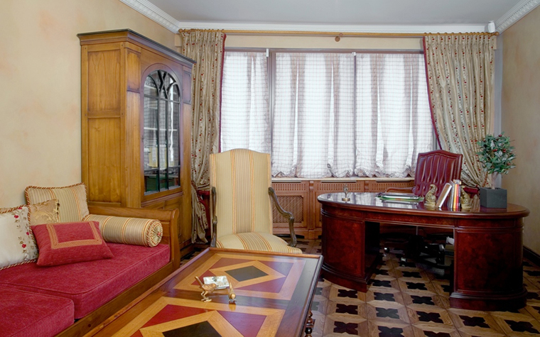 интерьер кабинета - фото № 18723