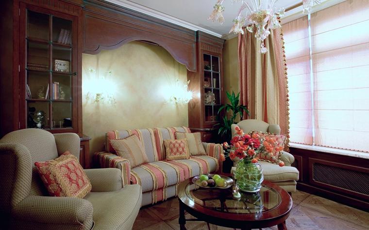 Фото № 18713 гостиная  Квартира