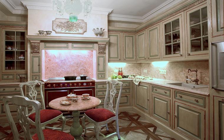 Фото № 18714 кухня  Квартира