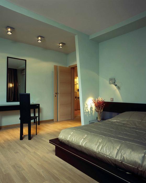 Квартира. спальня из проекта , фото №18816