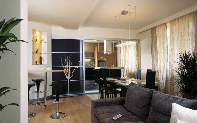 Квартира. гостиная из проекта , фото №18814