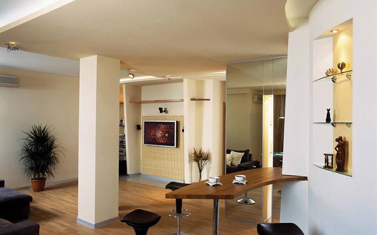 Квартира. гостиная из проекта , фото №18818