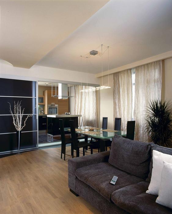 Фото № 18815 гостиная  Квартира