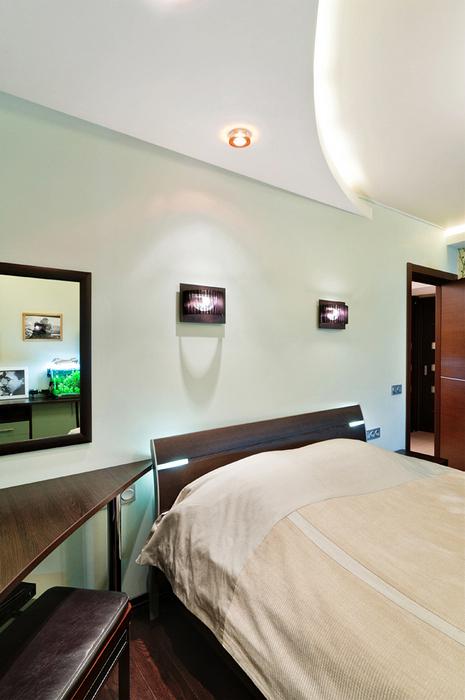 Квартира. спальня из проекта , фото №18924