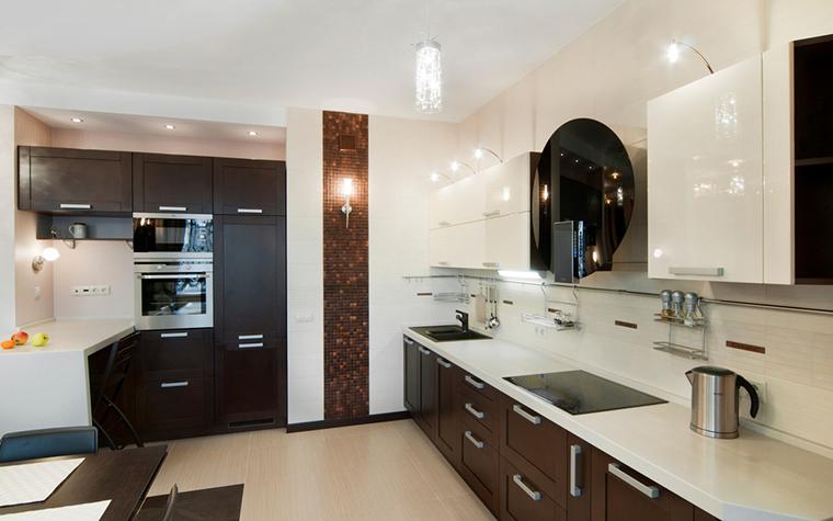 Квартира. кухня из проекта , фото №18949