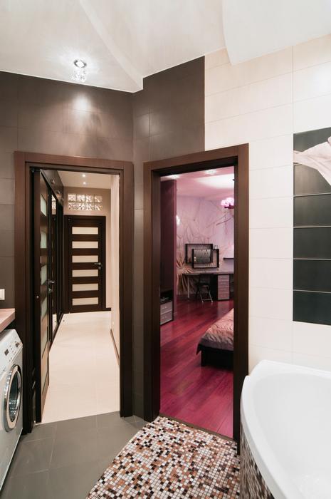 Квартира. ванная из проекта , фото №18963