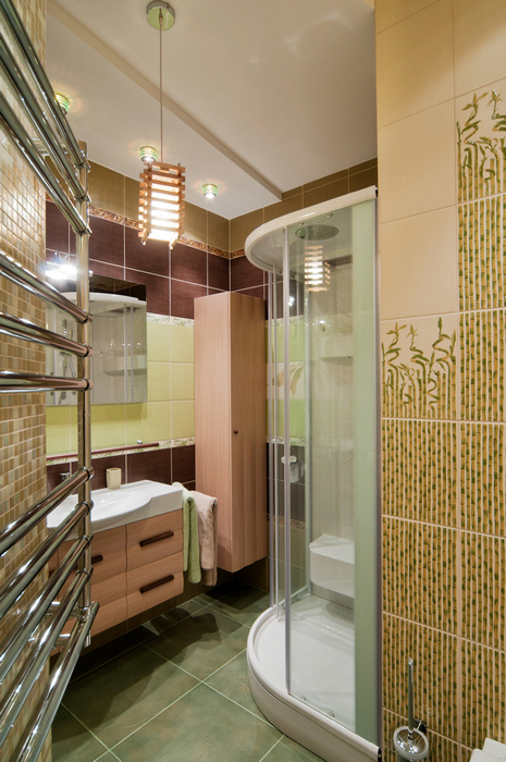 Квартира. ванная из проекта , фото №18959