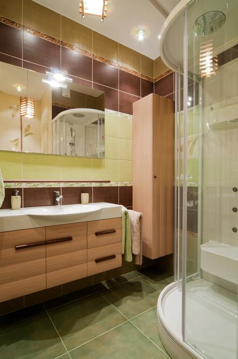 Квартира. ванная из проекта , фото №18961