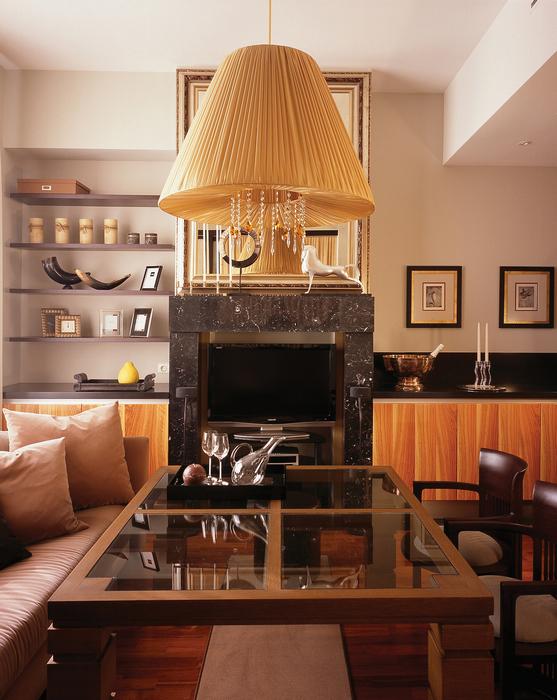 Квартира. гостиная из проекта , фото №19249